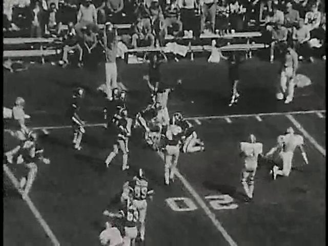 Ncsu vs unc football part1 1977