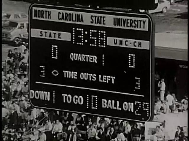 Ncsu vs unc football part1 1979