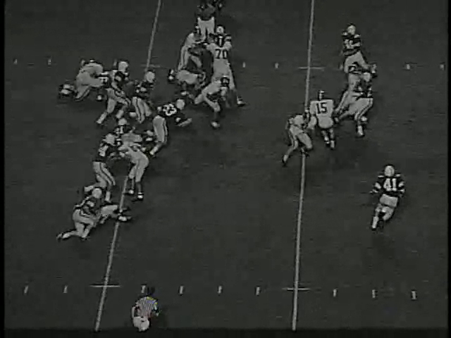 Ncsu vs unc football part2 1970