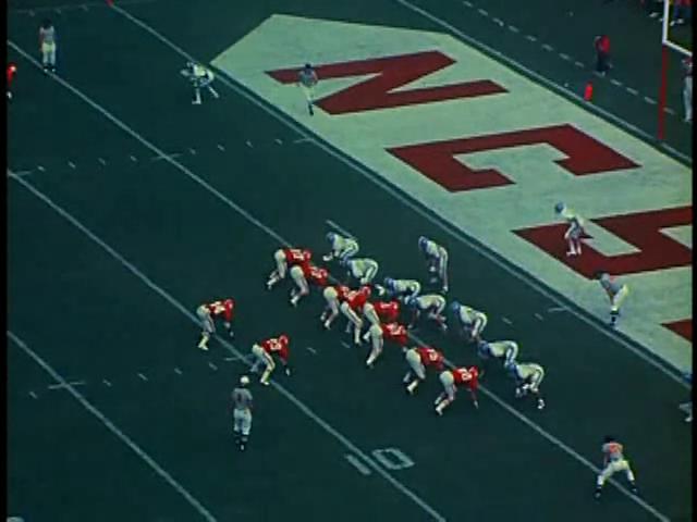 Ncsu vs unc football part2 1975