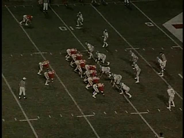 Ncsu vs unc football part4 1979